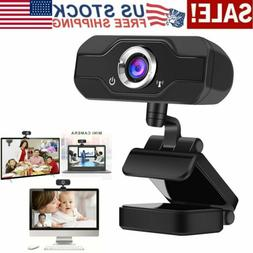 1080P HD Webcam Video Recording USB Camera with Microphone F