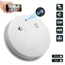 High Quality Smoke Detector Security Camera Battery + HardWi