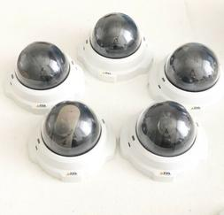 Lot of 5 Axis M3203 Network Cameras - White