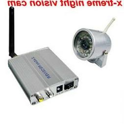NEW Home Surveillance Wireless Camera with Night Vision feat